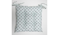 Garden Green Grey - Chair Cushion