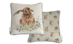Bright Eyes Hare Cushion