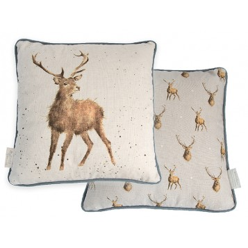 Wild at Heart Stag Cushion