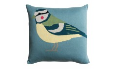 Garden Birds Knitted Statement Cushion