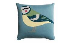Garden Birds Knitted Statement Cushion